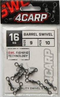OBRATLÍK 4CARP BARREL SWIVEL vel. 9