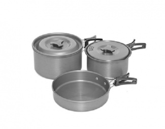 SADA NÁDOBÍ TRAKKER 3ks ARMOLIFE THREE PIECE COOKWARE SET