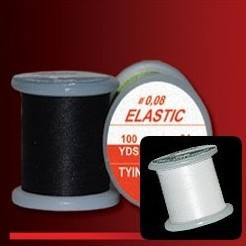 ELASTIC TYING THREAD - BÍLÁ 0,08mm VNE200