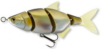 WOBLER ME-RA SHAD S - gold & silver