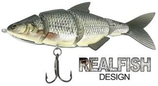WOBLER ME-RA SHAD S - natural roach