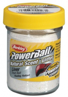 Berkley těsto na pstruhy Powerbait white liver