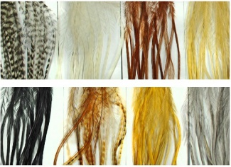 Dry Fly Hackle kohout S