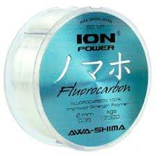 Fluorocarbon AWA-SHIMA Ion Power 50m/0,08mm/0,790kg