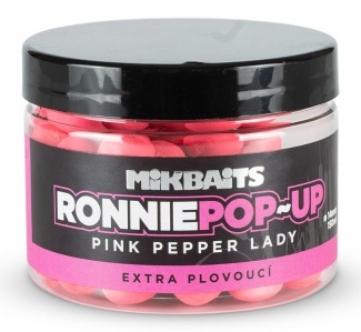 Boilie pop-up Mikbaits Ronnie 150ml/14mm pink pepper lady