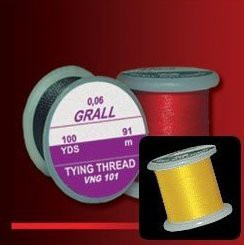 GRALL TYING THREAD - ŽLUTÁ VNG106