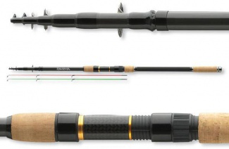 PRUT DAIWA BLACK WIDOW TELE FEEDER 390cm/až do 100g