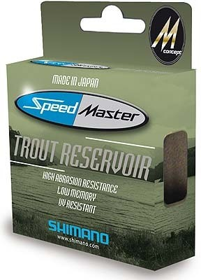 Vlasec Shimano Speed Master Trout Reservoir 250m