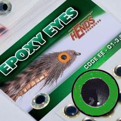 RYBÍ OČI EPOXY EYES ZELENÁ 4mm