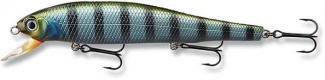 WOBLER TEAM CORMORAN - MINNOW PM35 GREEN STRIPER/7cm