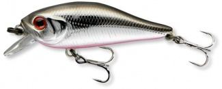 WOBLER TEAM CORMORAN SHALLOW BABY SHAD 4cm BLACK METALLIC SHINER