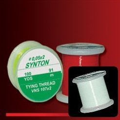 SYNTON TYING THREAD - BÍLÁ VNS-100x2